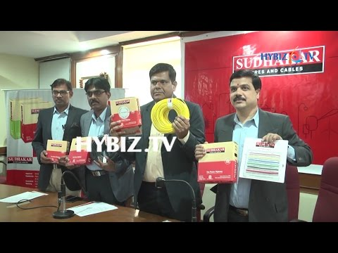 Sudhakar Group Launches Electrical wires and Cables in Hyderabad | hybiz