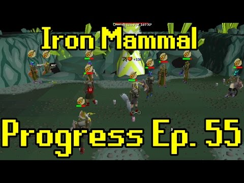 Oldschool Runescape - 2007 Iron Man Progress Ep. 55 | Iron Mammal