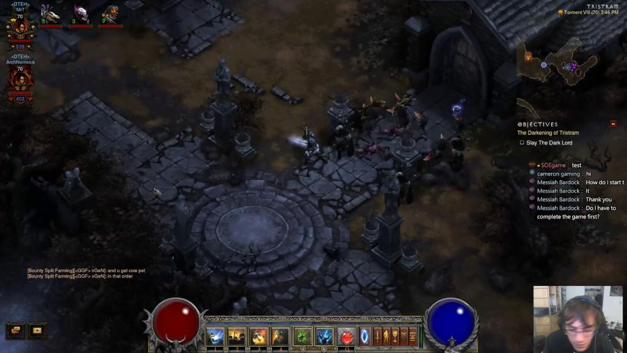 Diablo 3 Gameplay: Complete Guide To Diablo 1 16-Tier