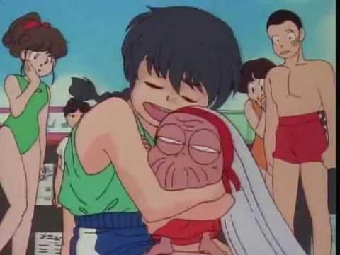 Ranma se enamora de la abuela