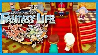 Fantasy Life Post Game part 1 Gameplay Walkthrough w/ Voltsy