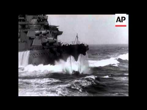 HMS Repulse Firing