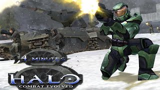 Halo: Combat Evolved in 4 minutes