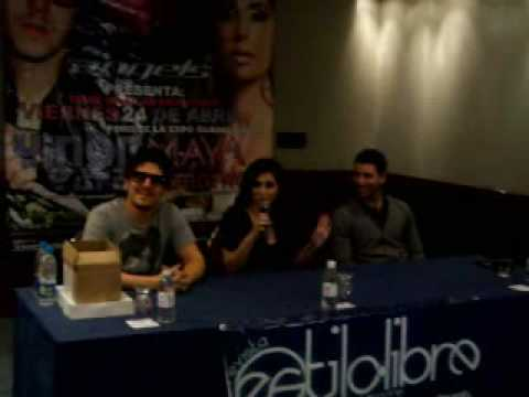 Maya Simantov & Yinon Yahel Interview @ Hilton Hotel Guadalajara 23.04.09