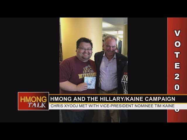 HMONGTALK: with guests Councilman Dai Thao and Hillary Clinton Campaign organizer Chris Xyooj.