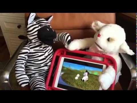 Zeze Zebra Nursery Rhyme and The Bluebee Pals