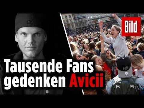 Rührende Szenen in Stockholm: Fans feiern toten Star-DJ Avicii