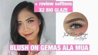 Makeup ala MUA (Gampang banget) + Review X2 Bio Glaze
