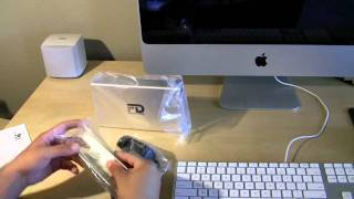 Fantom Drive G-Force MegaDisk Unboxing 2TB