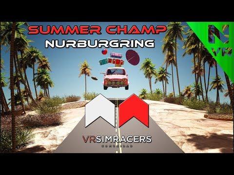 Assetto Corsa - SUMMER CHAMP (Circuito NURBURGRING)  -Sin comentarios-