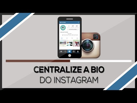 Como Centralizar a Bio do Instagram