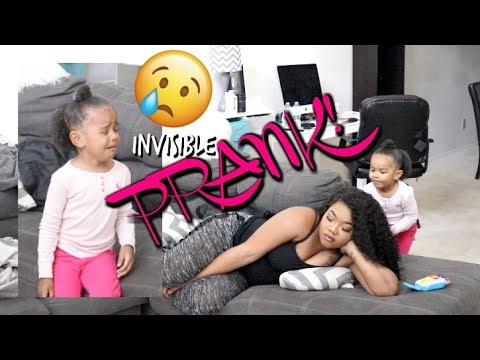 Invisible Prank On 3 Year Old (SHE CRIED)