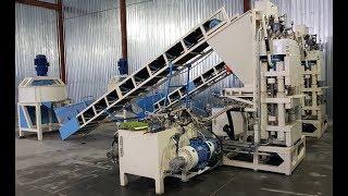 Оборудование для производства гиперпрессованого кирпича 2018 / Equipment for pressed bricks