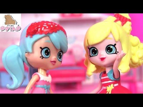 Играем в Куклы! Шопкинс Мультик Все Серии Happy Places Shopkins Домик для Куклы