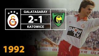 Nostalji Maçlar | Galatasaray 2 - 1 Katowice ( 29.09.1992 )