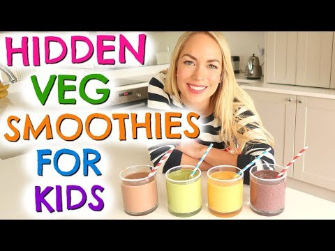 4 HEALTHY BREAKFAST SMOOTHIES  |  BREAKFAST DRINKS FOR KIDS
