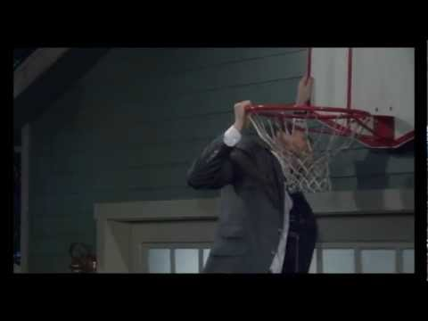 Barney Takes His Father's Basketball Hoop, How I Met Your Mother