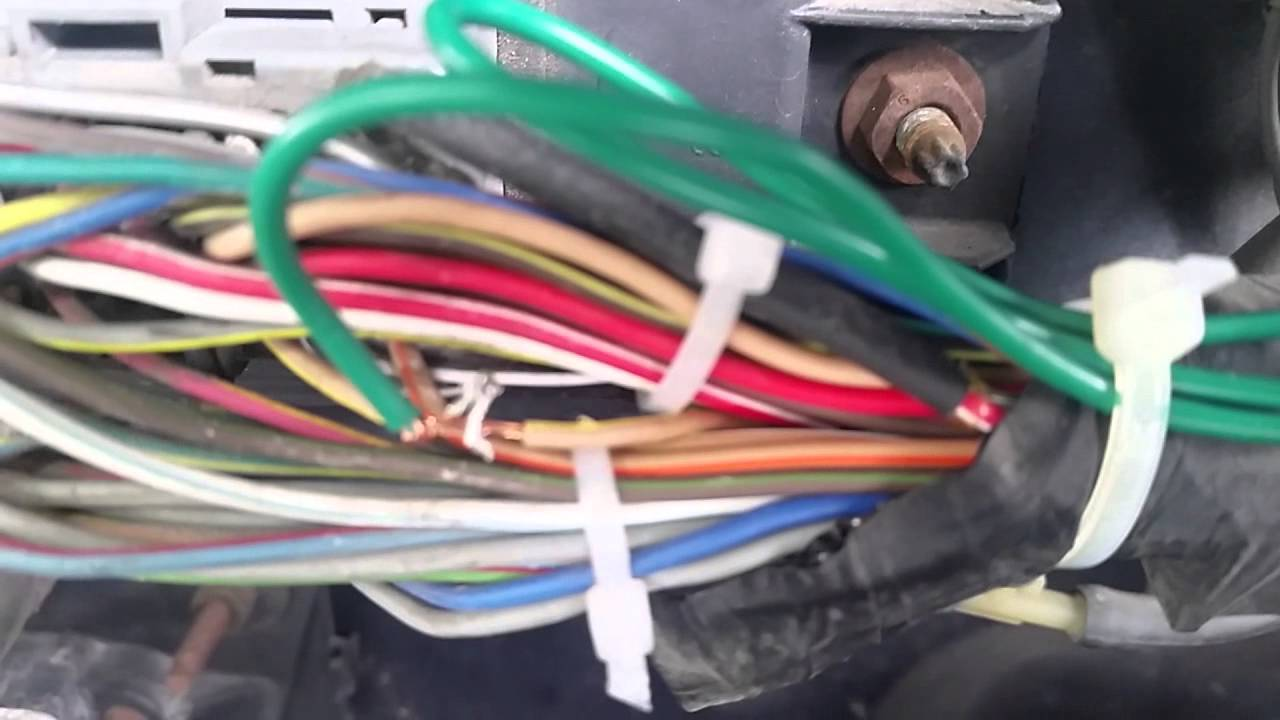 how wire tach for ford ranger 2 3 youtube rh youtube com Chevy 350 Tachometer Wiring Auto Meter Tachometer Wiring