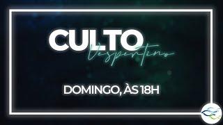 Culto Dominical (Vespertino) - 01/11/2020 - CONTINUAÇÃO