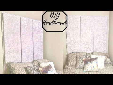 DIY HEADBOARD TUTORIAL | CHEAP AND EASY