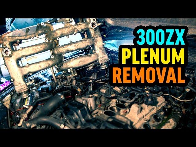 Nissan 300zx N/A plenum removal