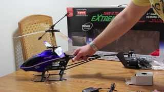 """Syma Extreme S-8G R/C Helicopter (24"""" Long) Unboxing"""