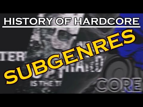 Know Your Genre: History of Hardcore [Subgenres Clip FULL VIDEO IN DESCRIPTION]