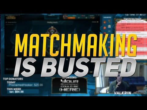 league ranked matchmaking