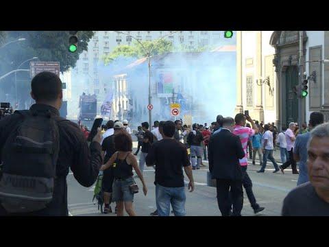 afpes: Protestas en Rio tras liberación de presidente de la Asamblea