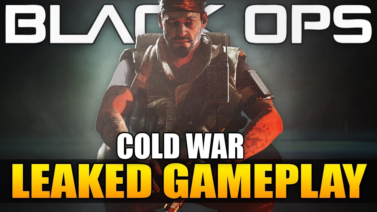 Call of Duty 2020: Black Ops Cold War Leaked Gameplay…