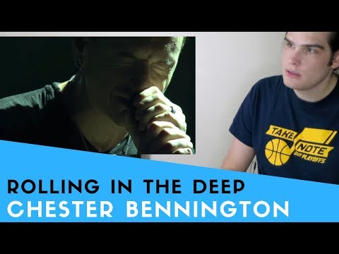 Voice Teacher Reacts to Rolling In The Deep - Chester Bennington Mp3