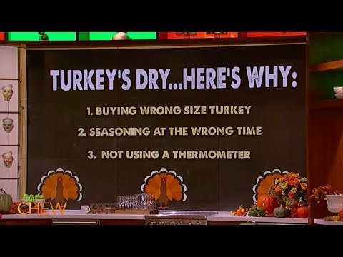 Back to Basics: The Steps to a Perfect Thanksgiving Turkey | The Chew