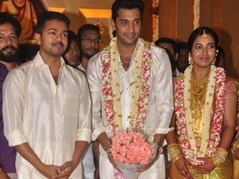 ilayathalapathy vijay at arulnidhi keerthana wedding