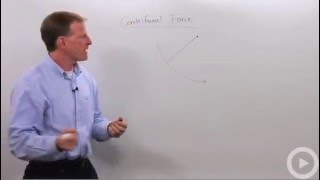 Centrifugal Force - Physics tutoring video on centrifugal force