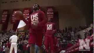 Nebraska Basketball vs Indiana Highlights - 3/5/14