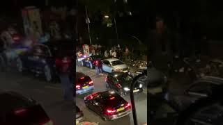 Mass street brawl after Eid party in east london , ilford eid fight gangs uk