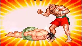 Super Street Fighter ll:Turbo - E.Honda [[TAS]] HD 1080p 60fps
