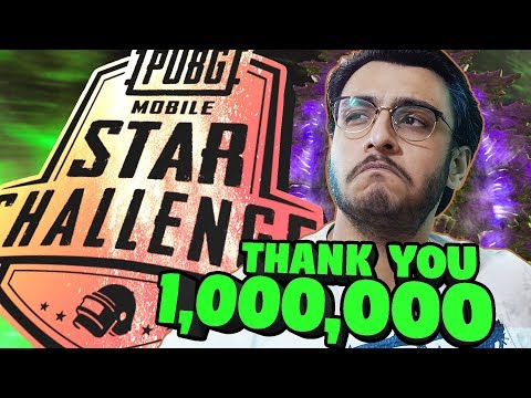 PUBG MOBILE LIVE: THANKS FOR 1 MILLION!! | PMSC 2019 | SEASON 7 ROYAL PASS RANK PUSH | NEW UPDATE