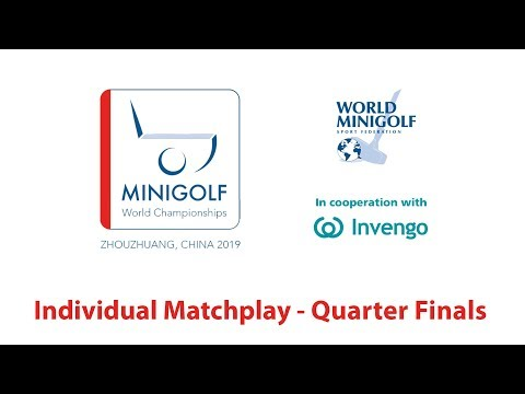 [Full Replay] WMF World Championships 2019 - Individual Matchplay - Quarter Finals