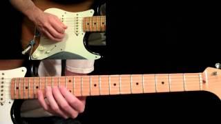 Manhattan Guitar Lesson Pt.4 - Eric Johnson - Main Solo (First Half)