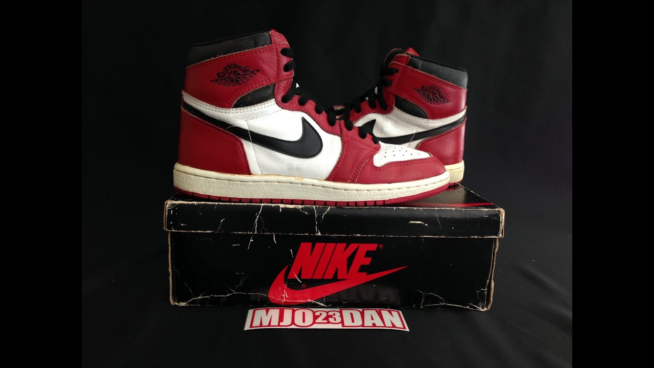 nike air jordan 1 original 1985 toyota
