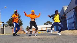 Kamo Mphela #Amanikiniki dance challenge #babymol #smith #juniorsmith
