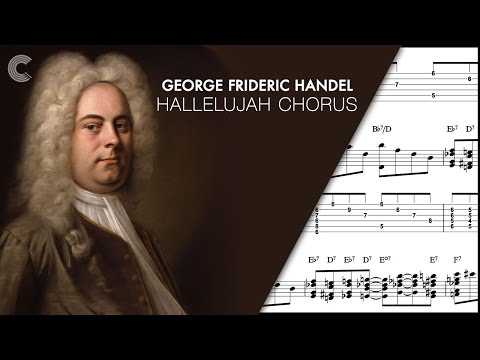 Flute  - Hallelujah Chorus - George Handel - Sheet Music, Chords, & Vocals