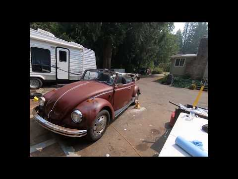 69 VW Bug Engine & Transmission Oil Change