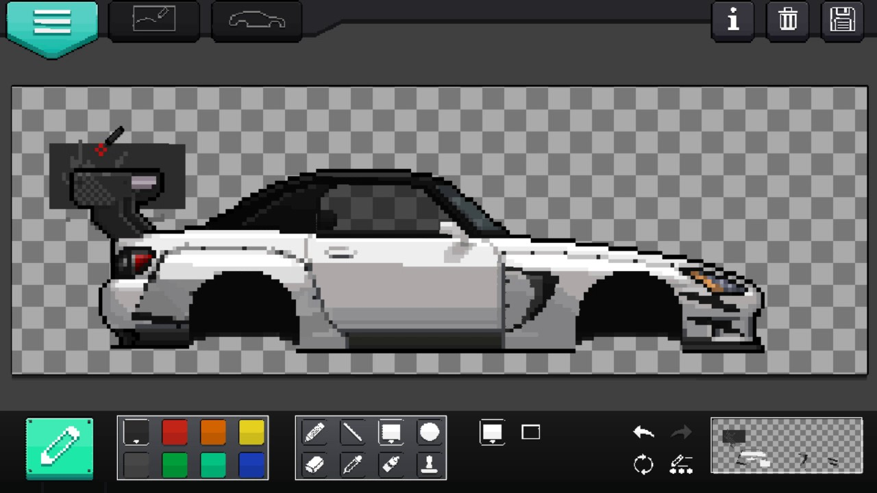 How to made carbon dacal custom decals pixel car racer