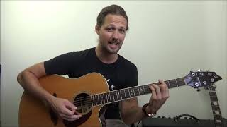 dock of the bay | easy bar chord song!