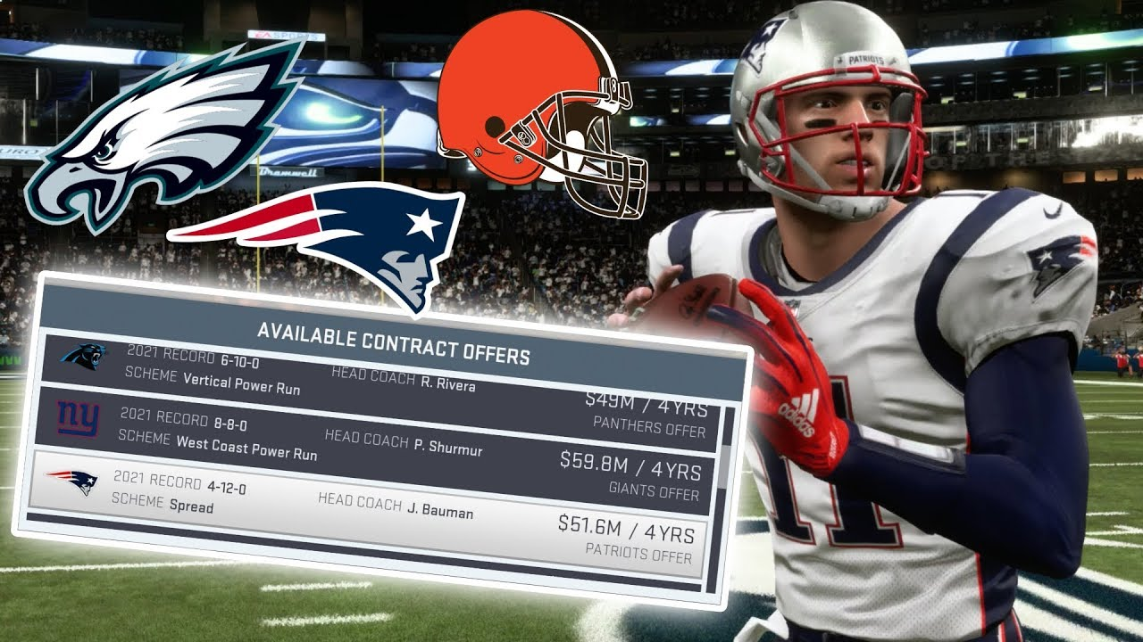 SIGNING RECORD BREAKING FREE AGENT CONTRACT! Madden 19 Career Mode