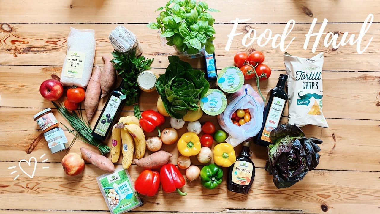 Food Haul | Wocheneinkauf Bio, Vegan und größtenteils plastikfrei | Low Waste