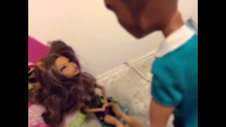 Monster high stop motion video clawdeen and her job