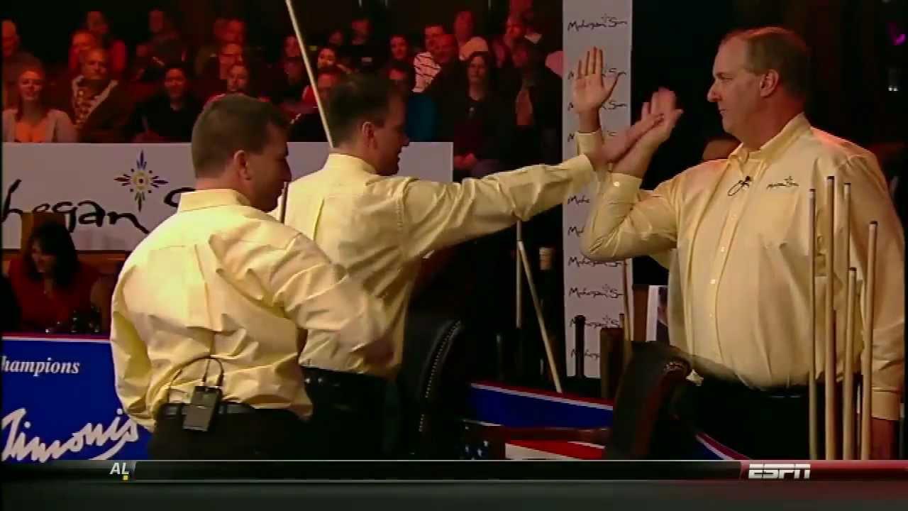 [HD] Billiard World Cup of Trick Shot 2012 - USA vs Europe Part 1